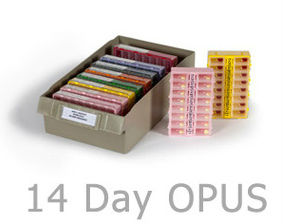 Image of 14 day Opus medication organizer