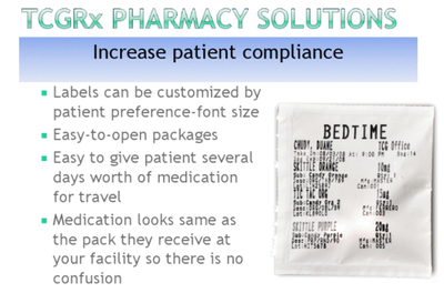 TCGRx Pharmacy Solutions Benefits